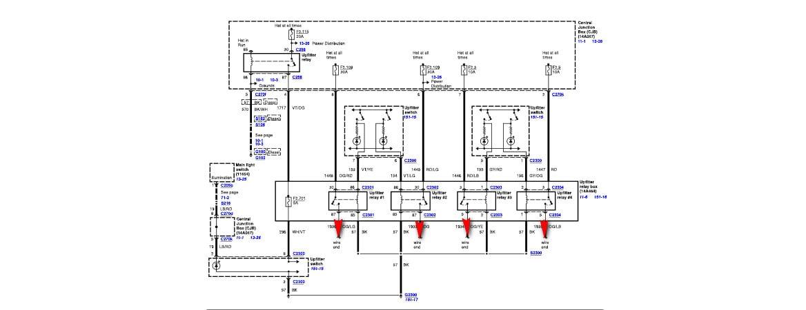 2015 f350 upfitter wiring diagram