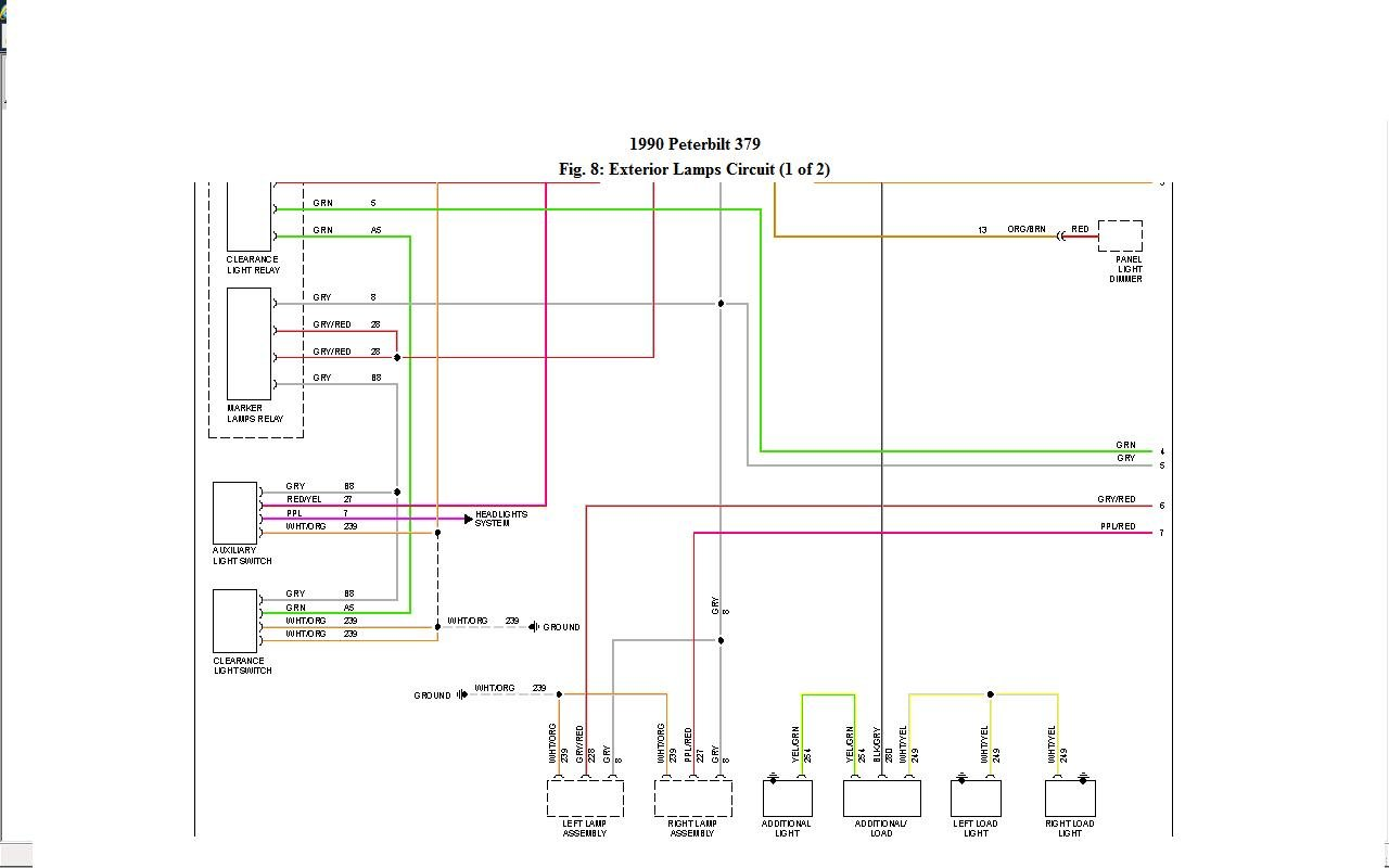 2015 Peterbilt 337 Light Wiring Diagram