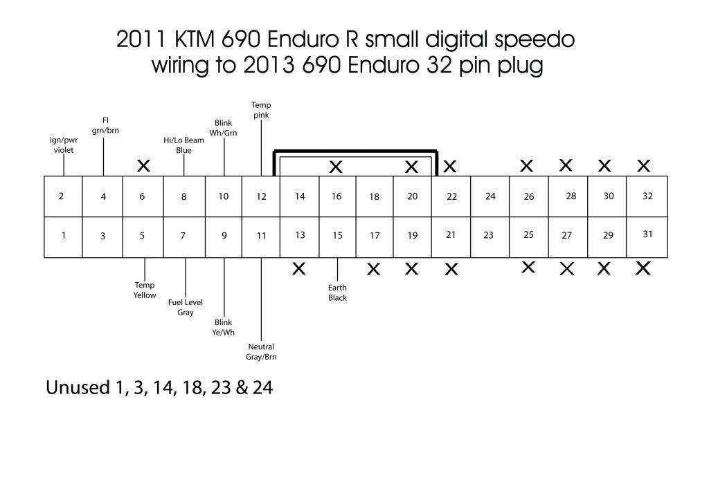 ktm speedometer wiring diagram