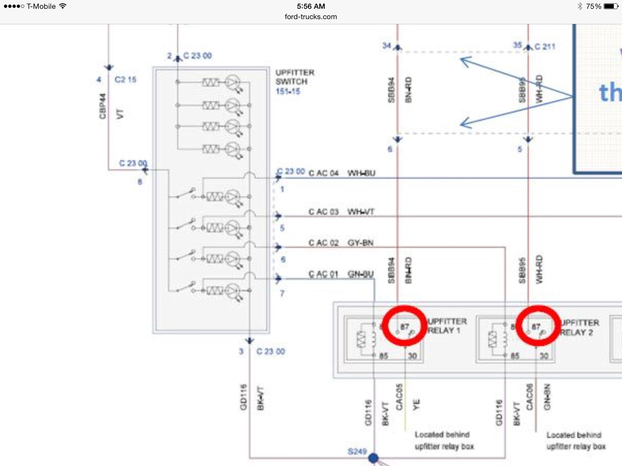 2017 F350 Upfitter Switch Wiring Diagram
