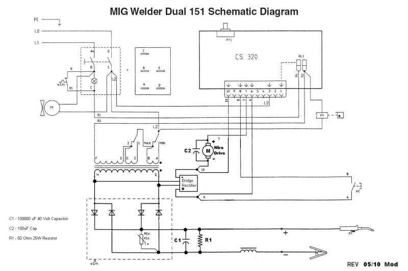 20559 Mig    Welder       Wiring       Diagram