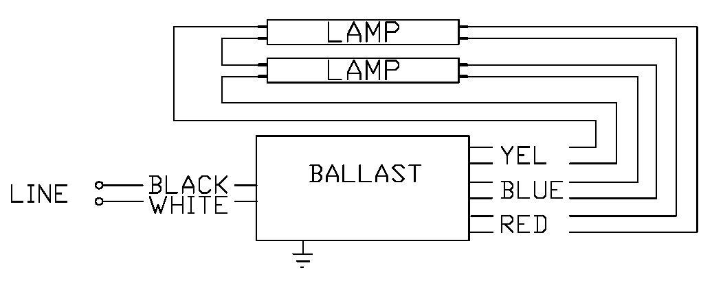 277v Ballast Wiring Diagram