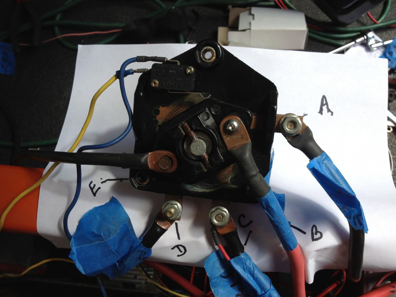 36v Club Car Forward Reverse Switch Wiring Diagram