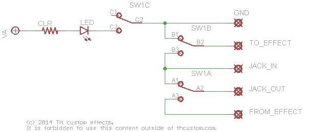 3pdt Switch Diagram