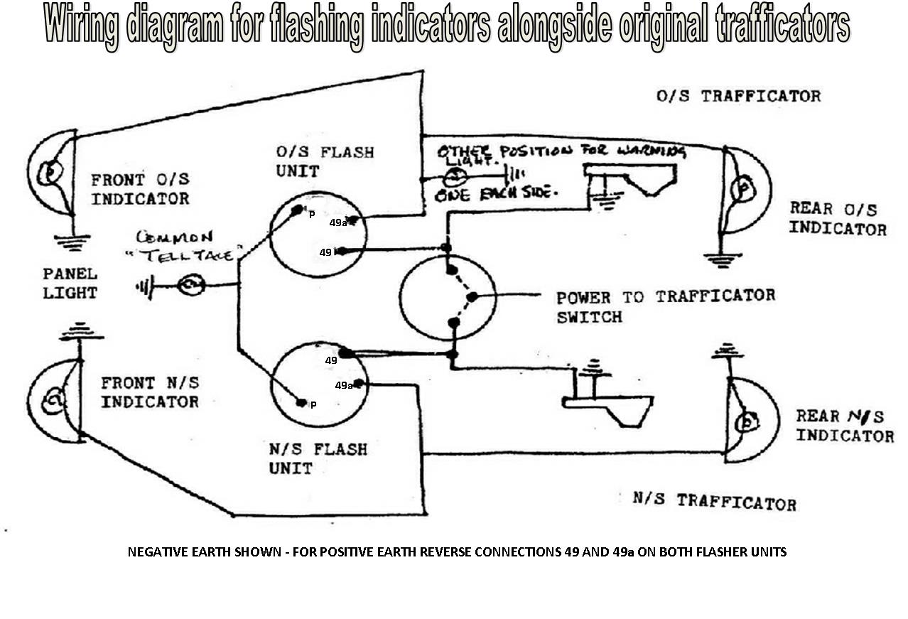 Addition Vw Beetle Wiring Diagram Together With 4 Way Flasher Wiring