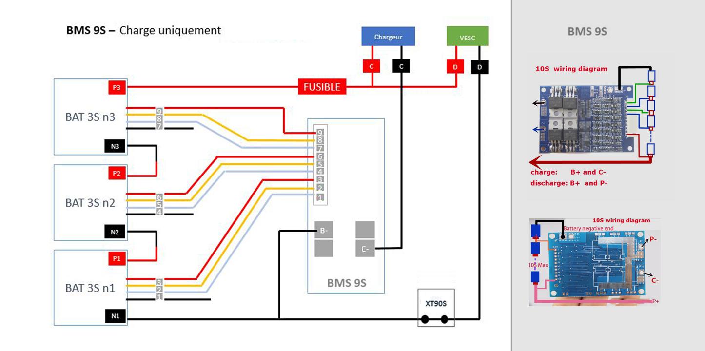 3s Bms Wiring Diagram Golf Cart Battery Meter