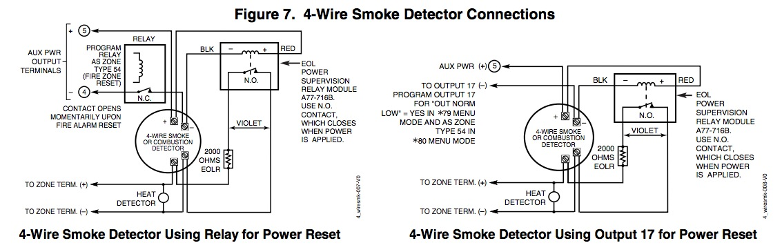 4 Wire Fire Alarm Wiring Diagram Strobe Panic