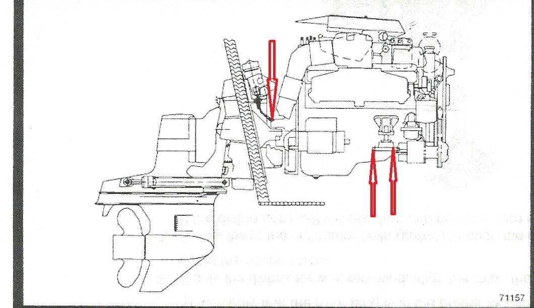 4 3 Mercruiser Drain Plugs Diagram