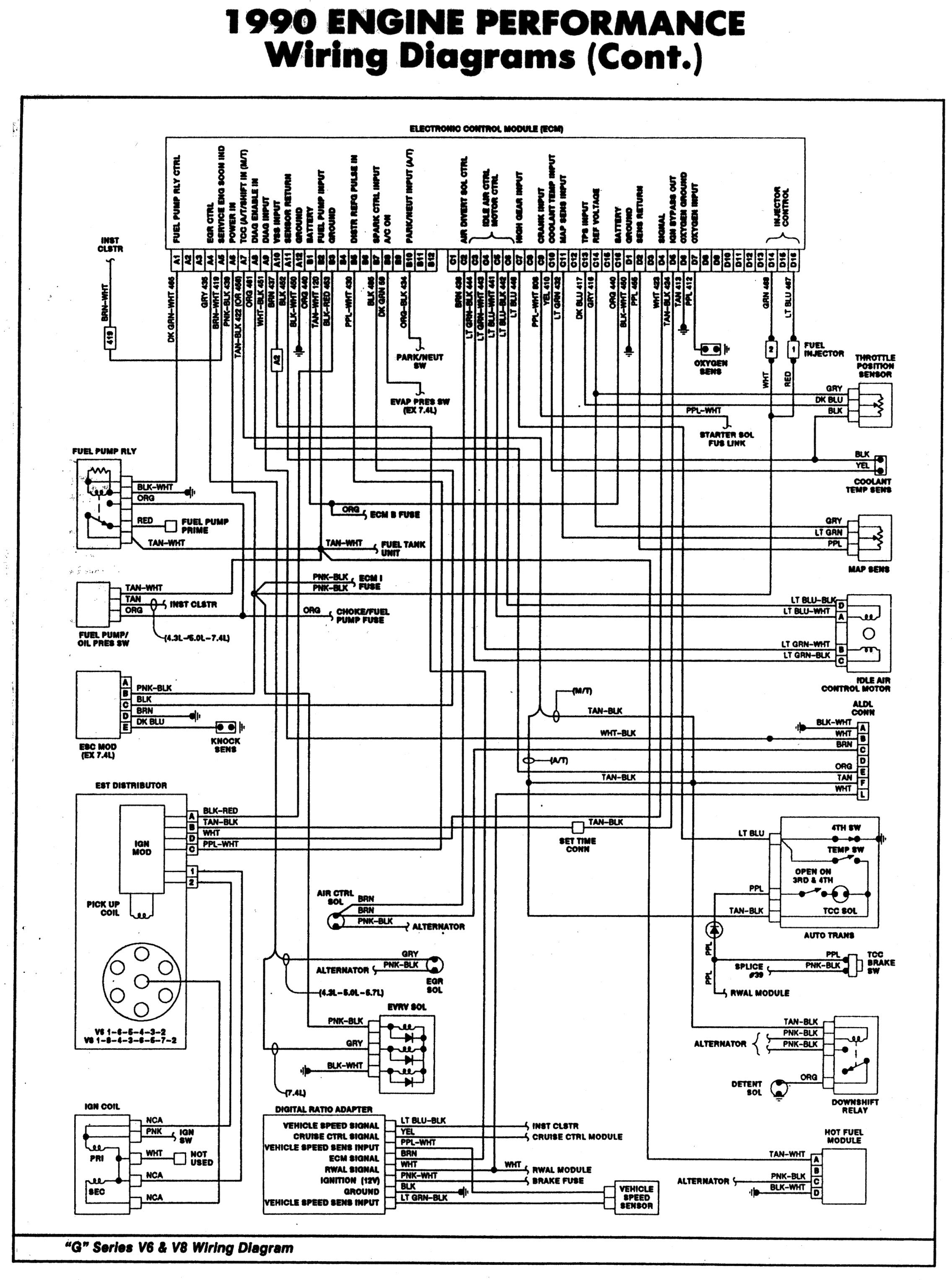 chevy 350 tbi wiring diagram wiring diagrams