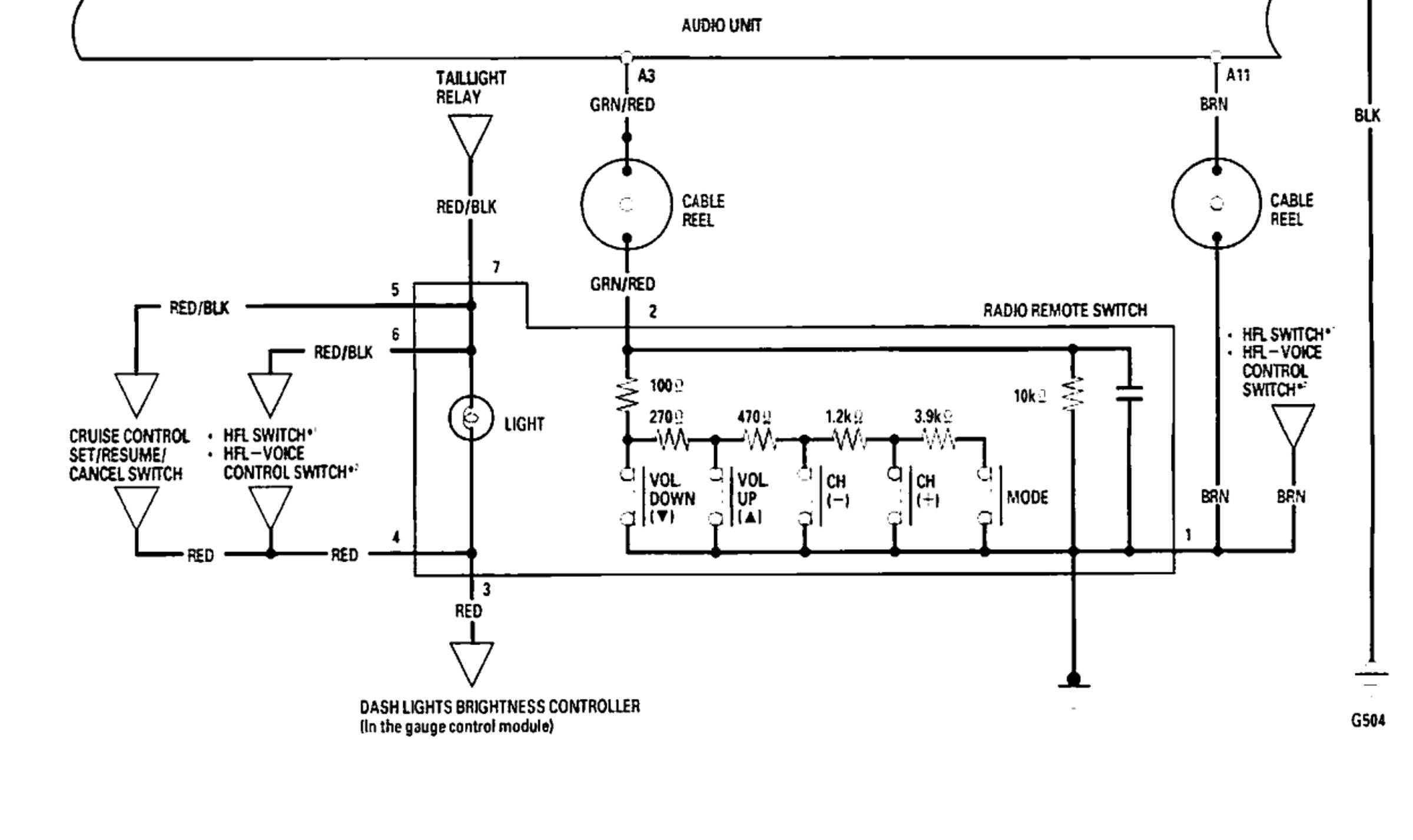 451m Relay Wiring Diagram