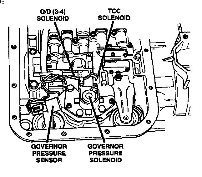 46re Valve Body Diagram