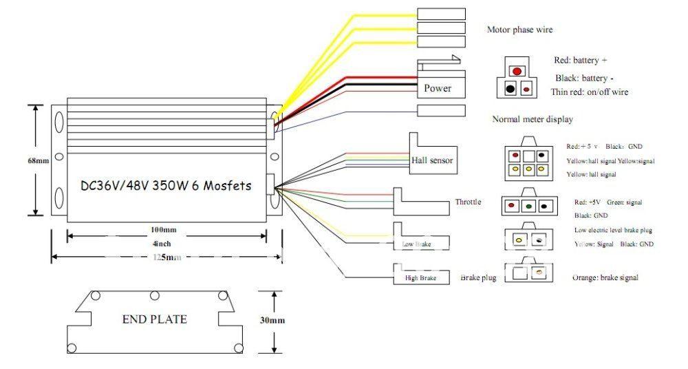48v Brushless Motor Controller Wiring Diagram