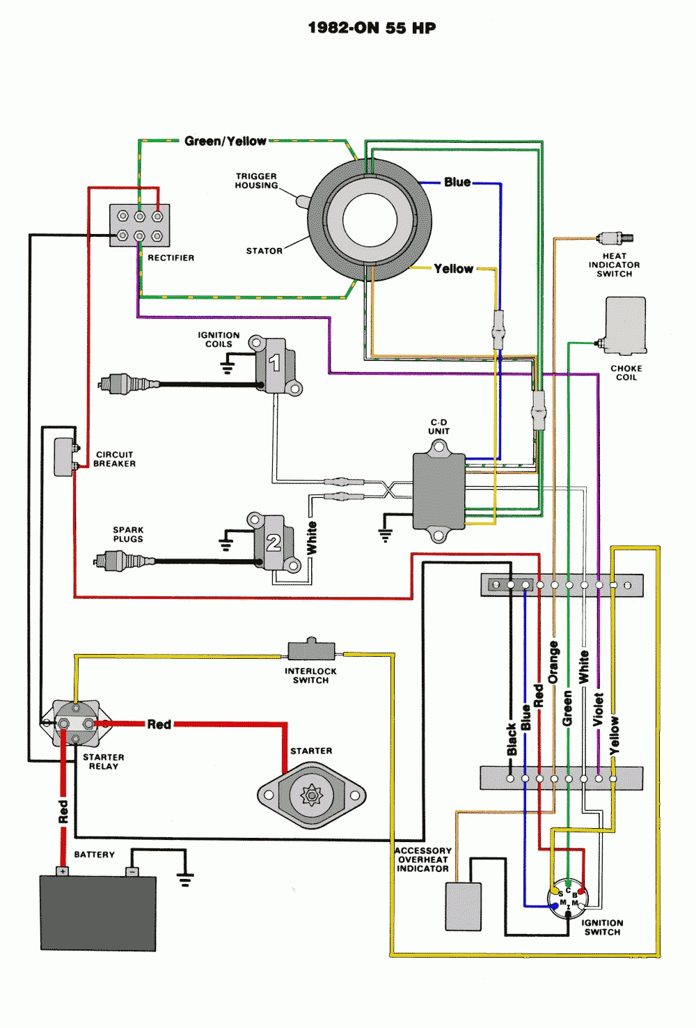 50 Hp Johnson Wiring Diagram