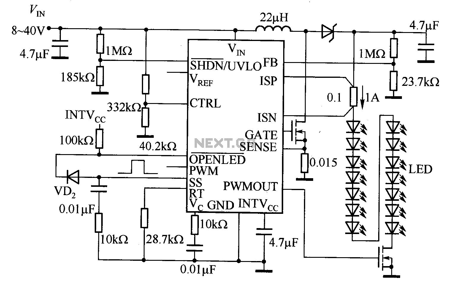 Circuit Diagram Of Led