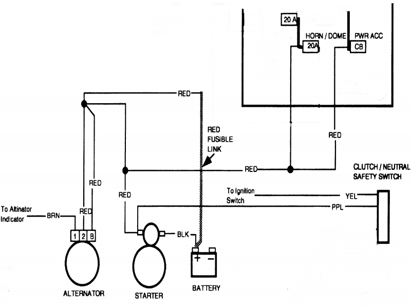 67-72 Chevy Truck Wiring Diagram With One Wire Alternator on 4 wire alternator wiring diagram, mustang alternator wiring diagram, 1 wire alternator wiring diagram, 2 wire alternator wiring diagram, 3 wire alternator wiring diagram, 5 wire alternator wiring diagram,