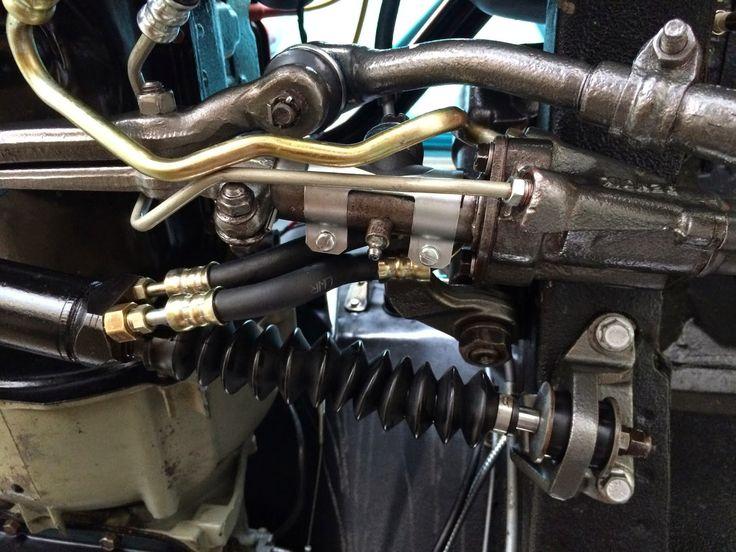 68 Mustang Power Steering Hose Routing