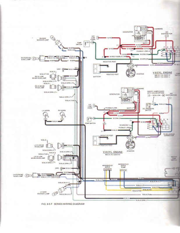 70-73 Pontiac 400 Wiring Diagram