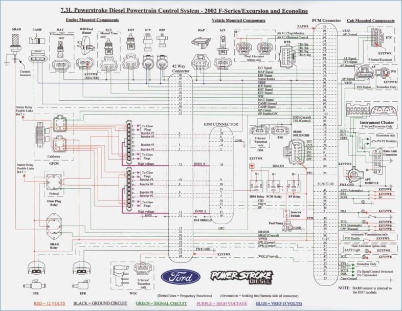 7 3 Glow Plug Relay Wiring Diagram