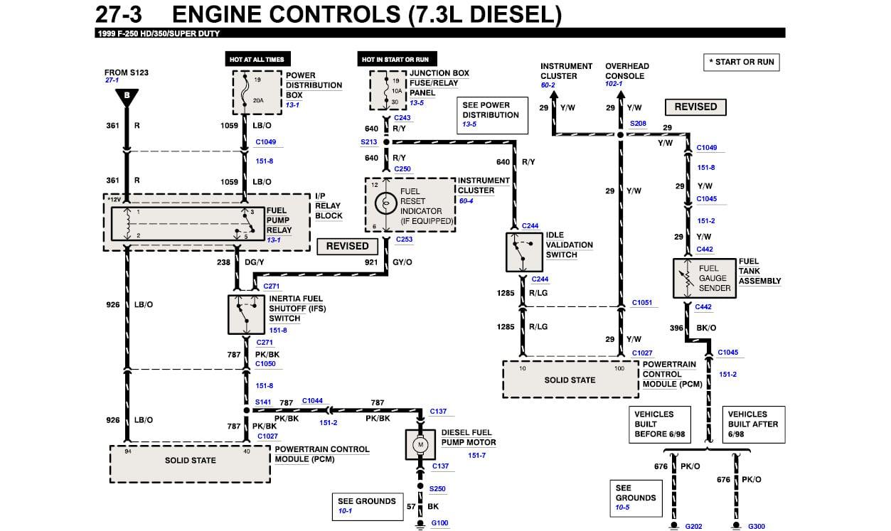 7 3 Glow Plug Relay Wiring Diagram