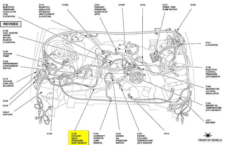 7 3 Powerstroke Sensor Location Diagram