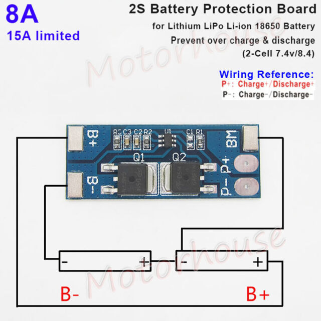 7 4 2s Lipo Battery Wiring Diagram