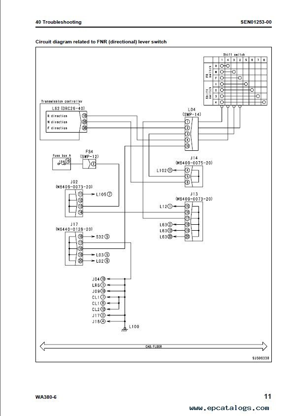 816g Wheel Loader Wiring Diagram