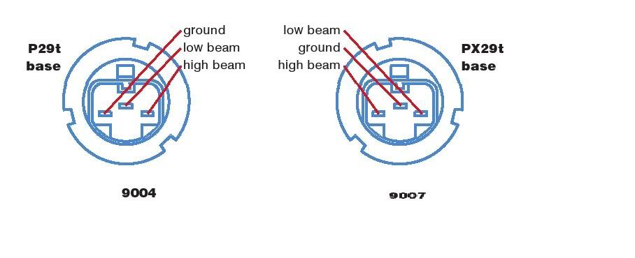 9004 Headlight Wiring Diagram