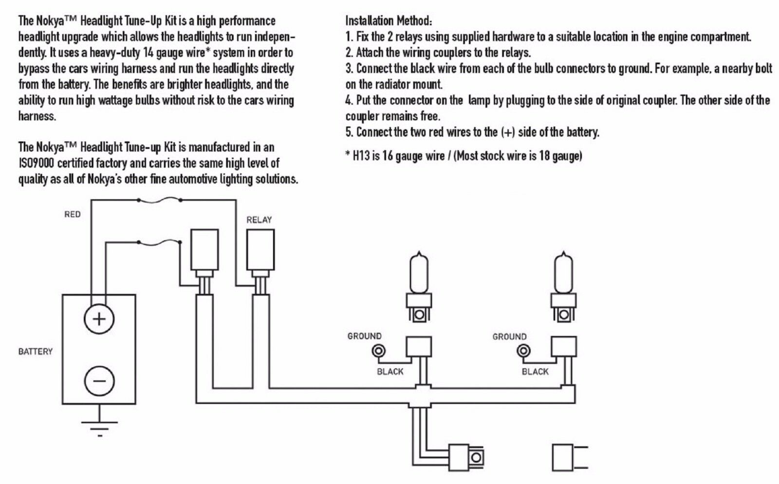 9008 Bulb Wiring Diagram