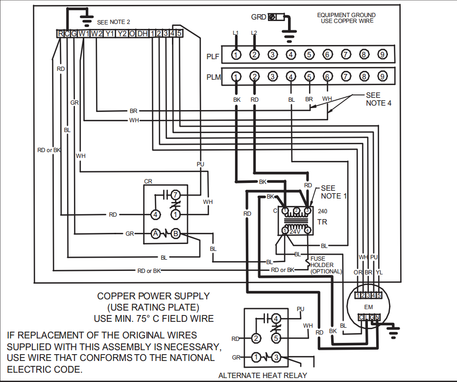 90340 Relay Wiring Diagram