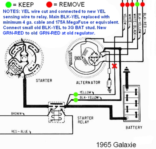 93 Mustang 3g Alternator Wiring Diagram