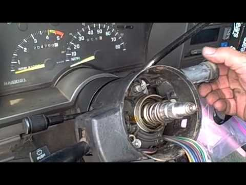 93       S10    Pickup Chilton Column Lock Ignition Switches    Wiring