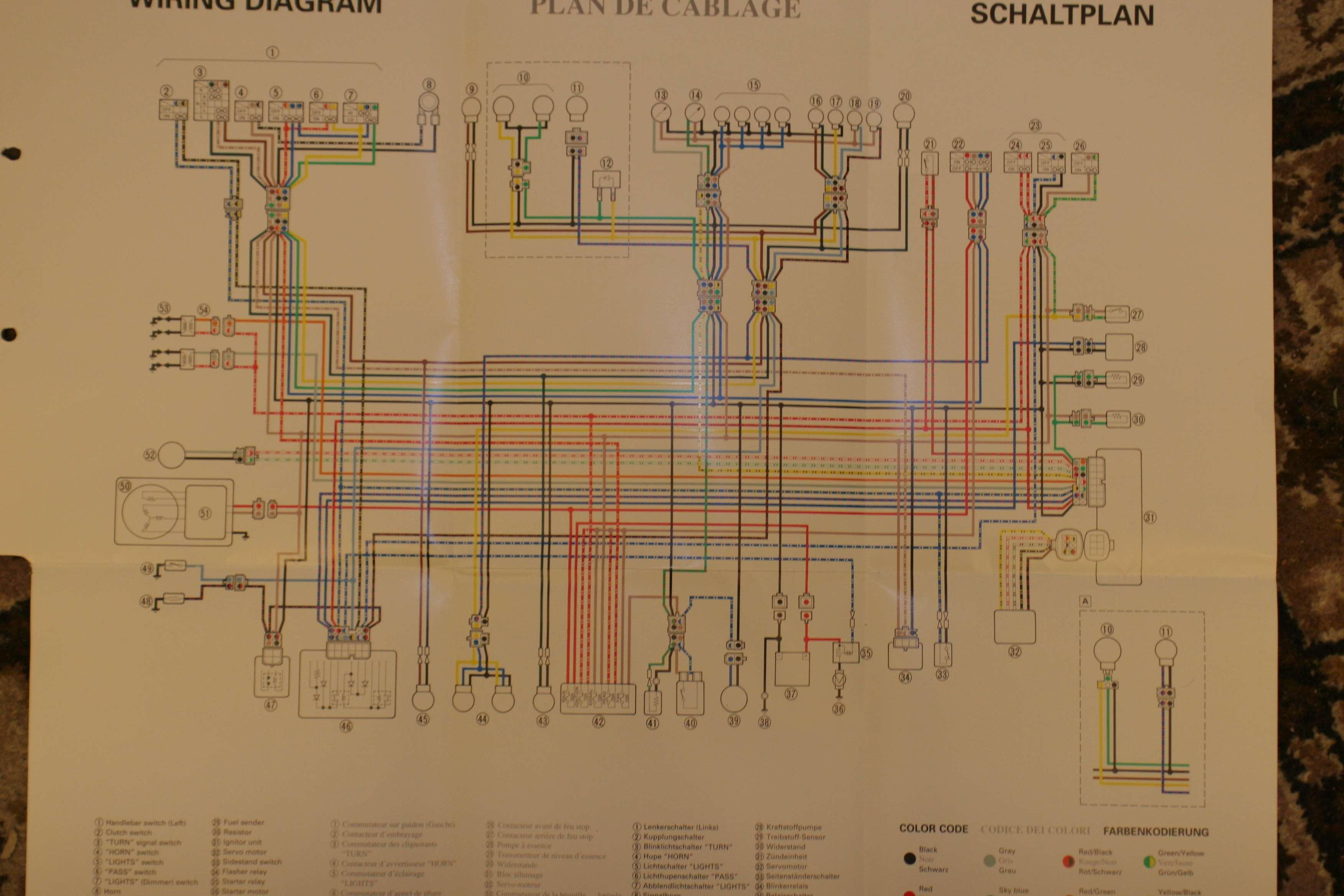 94 Zzr 1100 Wiring Diagram