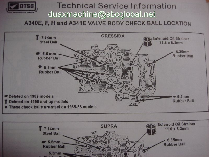 A340e Transmission Diagram