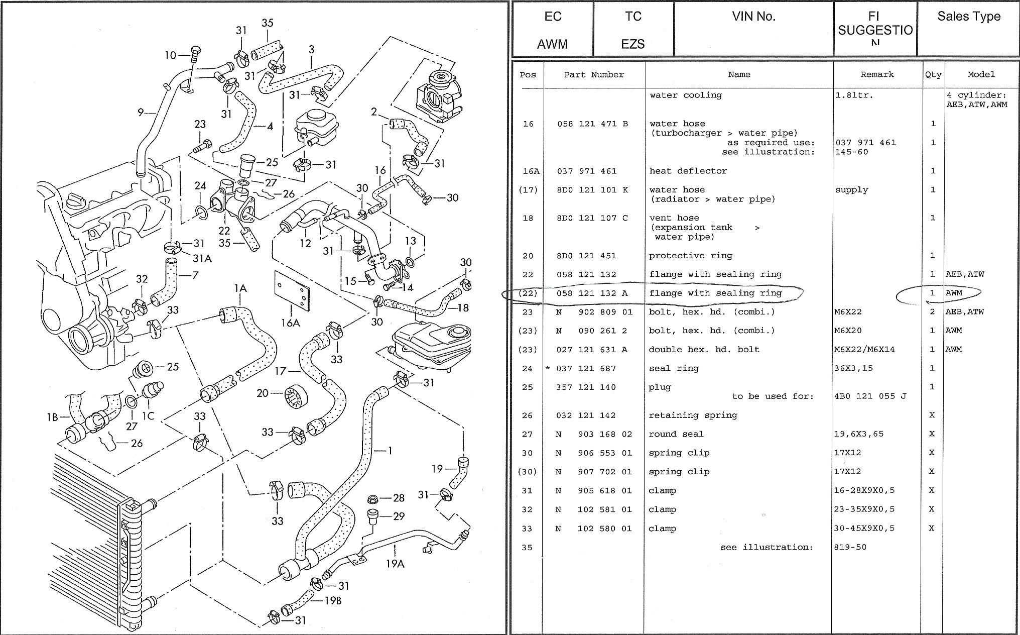 A4 3 0 Knock Sensor Wiring Diagram