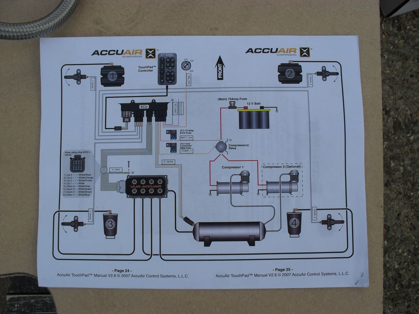 Accuair Vu4 Wiring Diagram