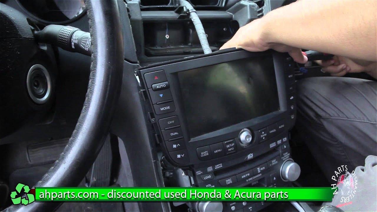 Acura Mdx 2004 Mdx Radio Steering Wheel Control Factory