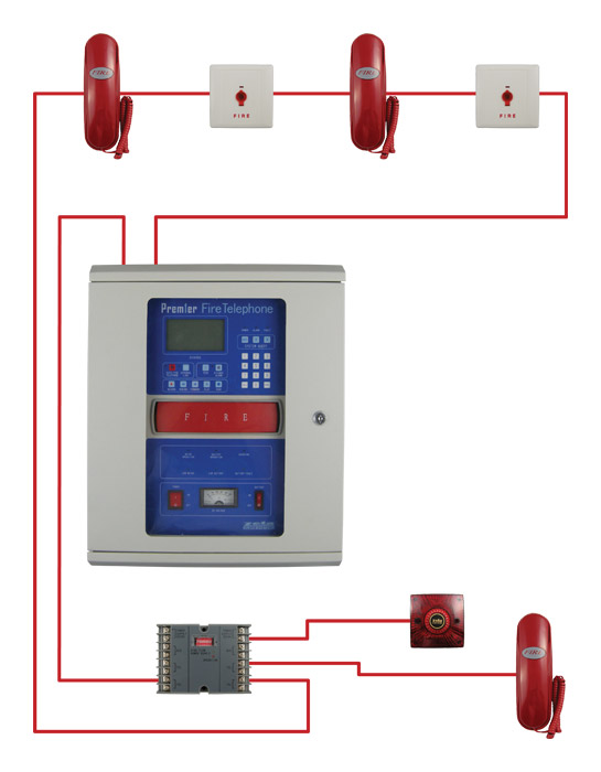 Addressable Fire Alarms Systems Typical Wiring Diagram on