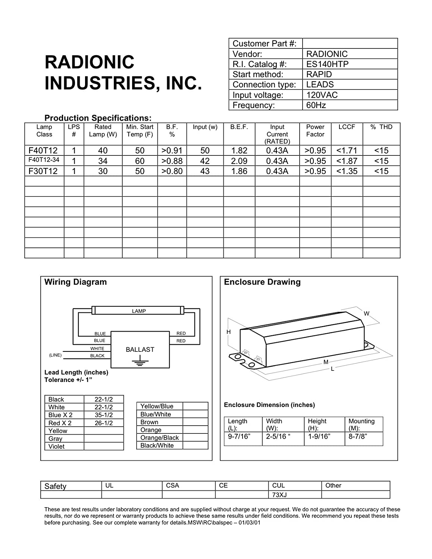 advance f96t12 ho ballast wiring diagram