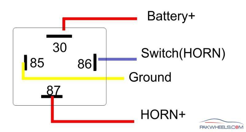 Wiper Motor 12 Volt Relay Wiring Diagrams - Schematics Online on