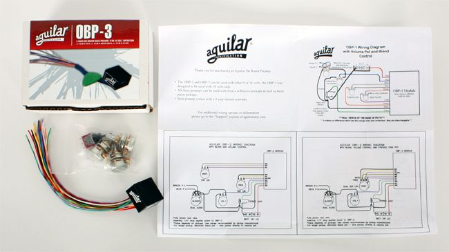 Aguilar Obp 3 Wiring on