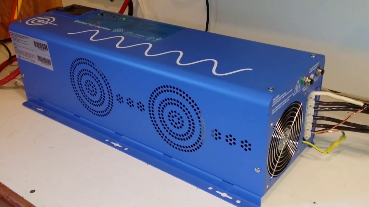 Aims Power 3000 Watt 12v Pure Sine Inverter Charger Wiring