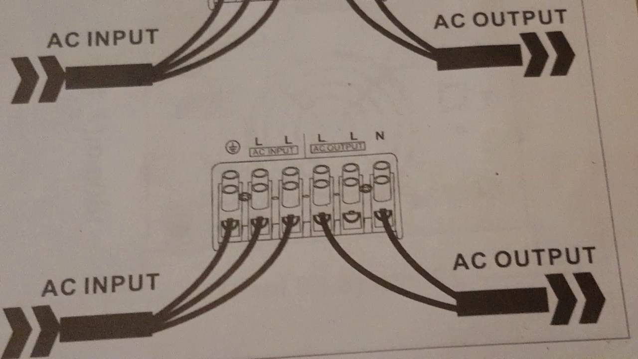 Inverter Charger Wiring Diagram