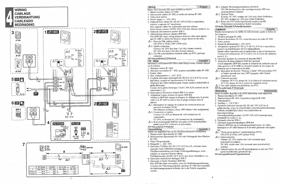 Aiphone Jf 1md Wiring Diagram