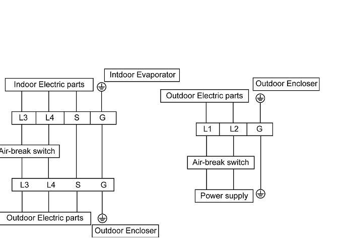 Air Conditioner 230v L1 Vs L2 Wiring Diagram