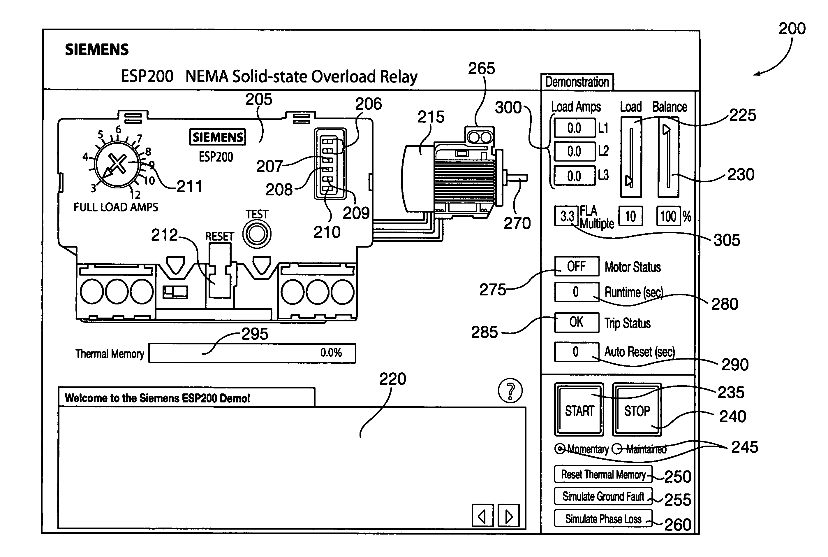 Allen Bradley Motor Starter With Overload Protection