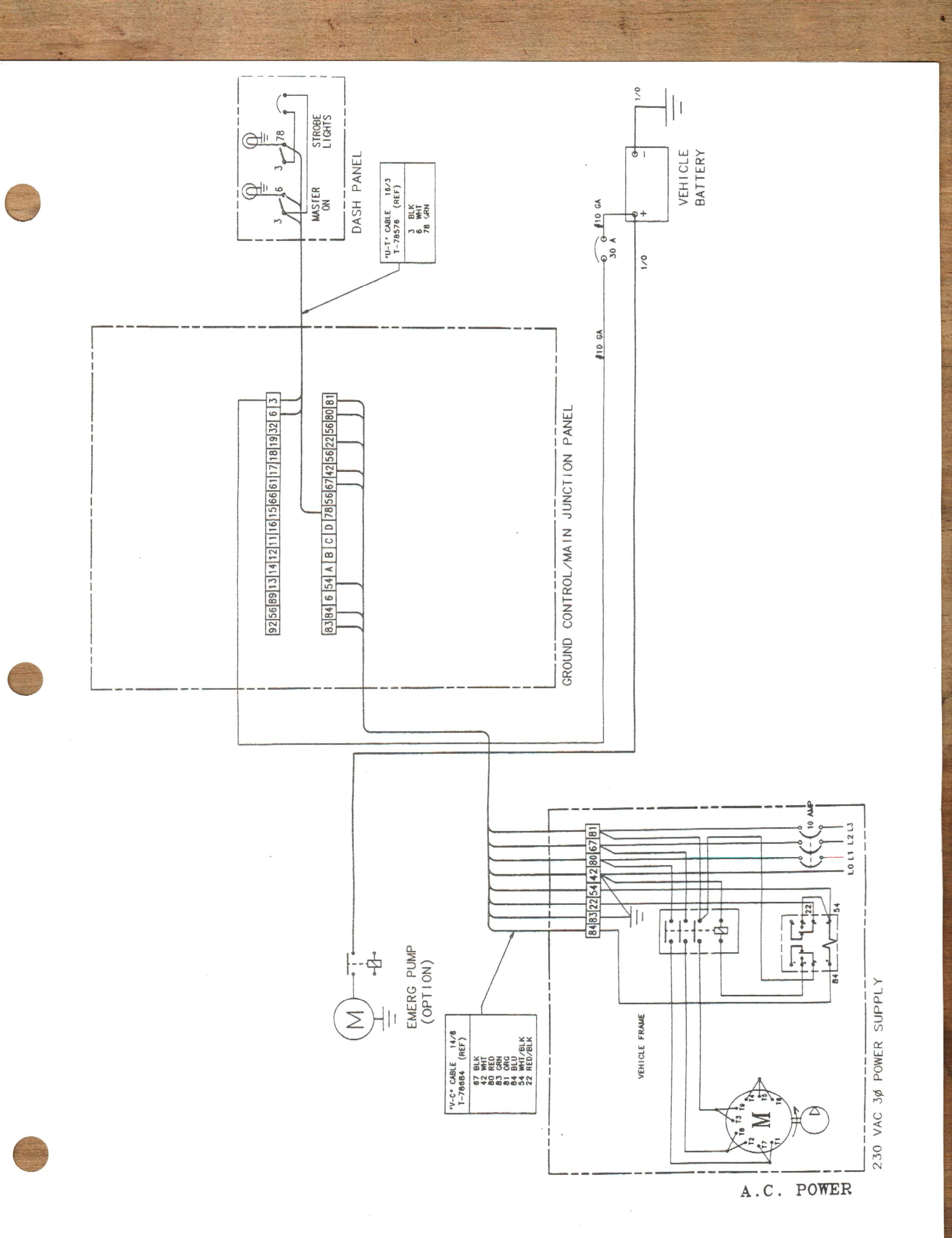 Altec Bucket Truck Safety Circuit Wiring Diagram