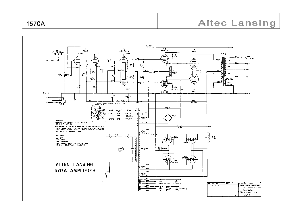 Altec Lansing 221 Wiring Diagram