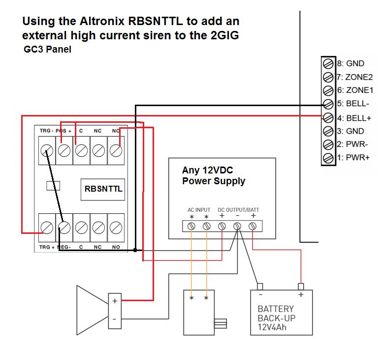 Altronix Relay Wiring Diagram