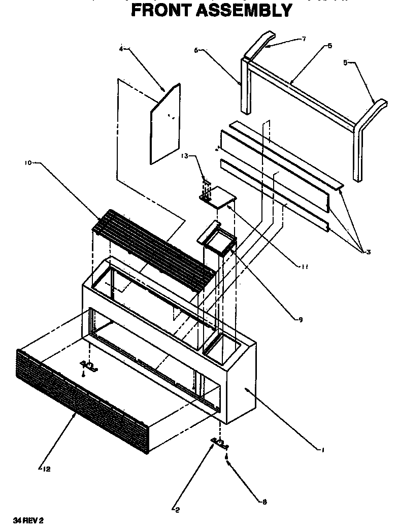 amana ac unit model pcc48c02e wiring diagram 4 Speed Blower Motor Wiring Diagram