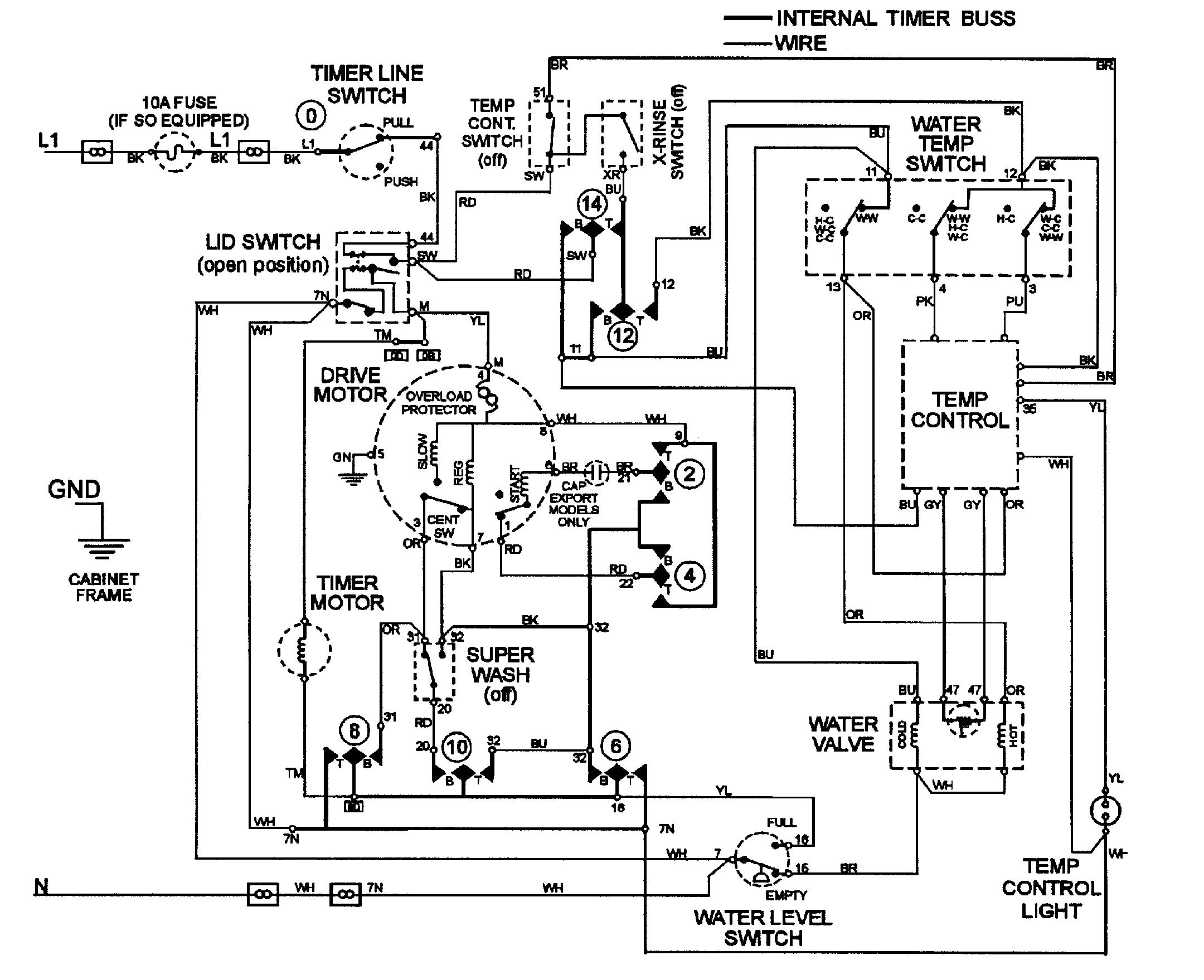 Wiring Diagram Besides Whirlpool Refrigerator Defrost Timer Likewise